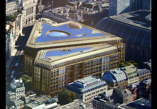 New Bloomberg Building Cost London