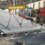 Enkel og rask montering på byggeplass.